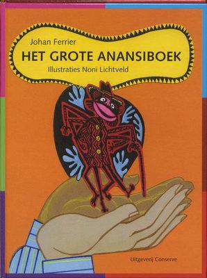 Het Grote Anansiboek Gebonden - Johan Ferrier - 9789054292951